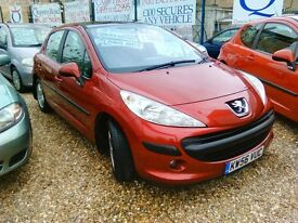 2007 Peugeot 207 1.4 petrol only 84.000 miles full service history very tidy car