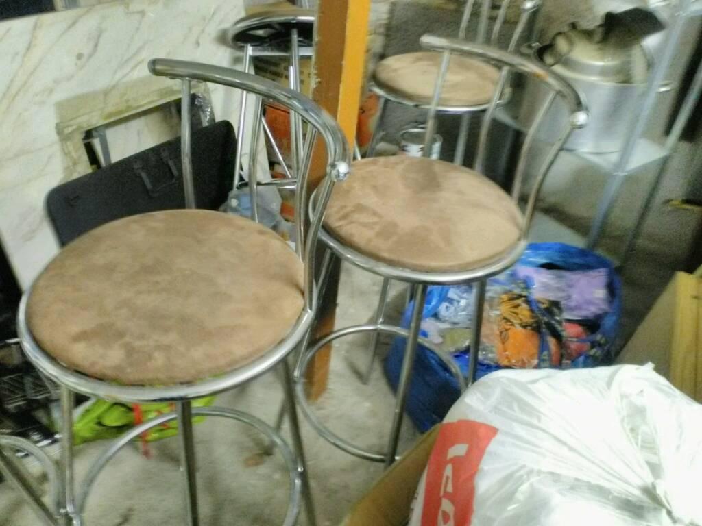 Swivel Kitchen bar stools x5