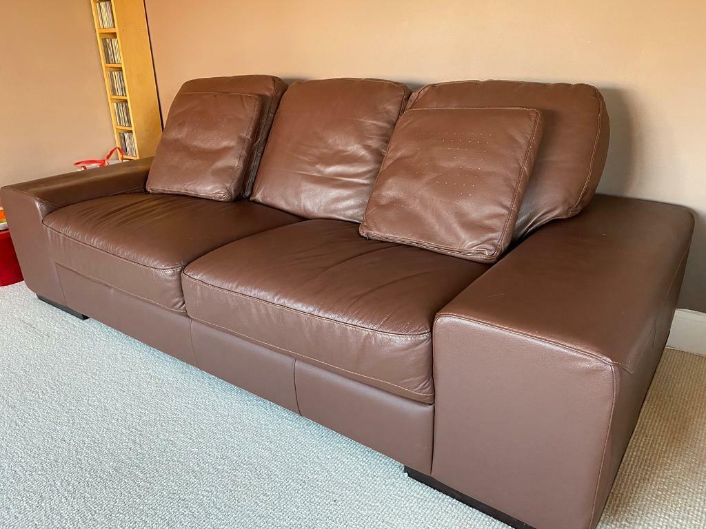 Leather Sofa Set In Elgin Moray Gumtree