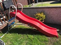 Chad Valley 6FT wavy slide red