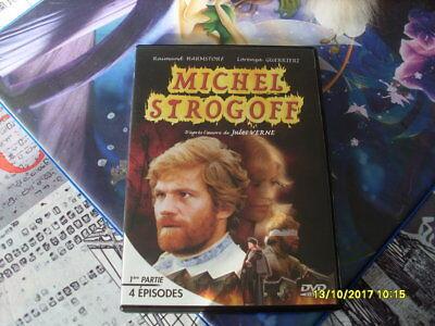 mini serie dvd film action aventure MICHEL STROGOFF jules verne RARE partie 1