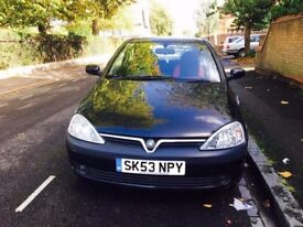 Vauxhall Corsa 1.2 cheap to insure/tax/great first car