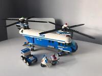 Lego Police helicopter Motorbike & buggy