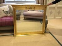 Beautiful over mantle mirror