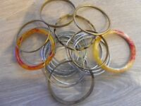 Assortment of bangles