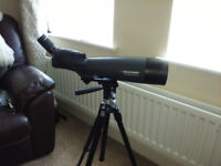 CELESTRON ULTIMA 100 SPOTTING SCOPE with ACCESSORIES - EXCELLENT CONDITION