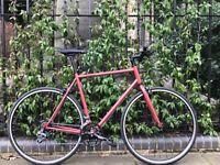 Special Offer GOKU cycles ALLOY / STEEL Frame Single speed road bike TRACK fixed gear bike WW3