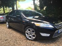 09 FORD MONDEO 2.0 TDCI TITANIUM X DRIVES AND LOOKS GREAT 5 DR TOP TOP SPEC FSH LONG MOT