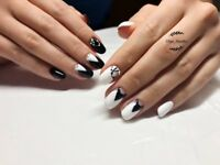 manicure, gel polish, аcrylic nails