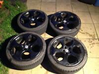 "Mk5 golf wheels 5x112 18"" monza gti alloys"