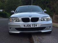 BMW 1 SERIES 118i 2.O PETROL 2006