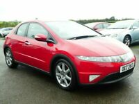 2007 Honda Civic 1.8 petrol sport with only 57000 miles, motd April 2022