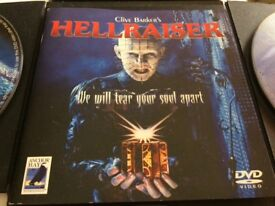 Hell raiser limited edition boxset dvds