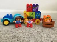 Duplo Lego fruit tractor