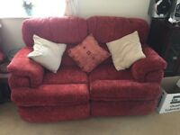 2 x 2 seater sofas - one reclines