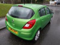 VAUXHALL CORSA 1.2 ACTIVE 5d 83 BHP (green) 2012