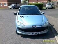 2003 peugeot 206 nice littel car mot only £499