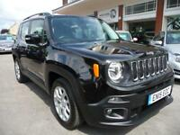 JEEP RENEGADE 1.4 LONGITUDE 5d 138 BHP (black) 2015