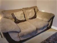 3 seater (converts to sofa bed) & 2 seater sofa