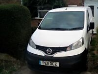 Nissan NV200 1.5 DCI Van, Very Economical Low Running Cost Van, Cat S QUICK SALE