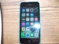 APPLE IPHONE 5C 8GB MODEL ON O2 / GIFF GAFF NOT SURE IF UNLOCKED