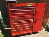 Snap-on tool box and tools