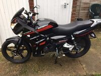 Direct Bikes RS 125cc Motorbike Very Low Mileage.