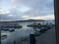 One bedroom flat overlooking Falmouth Harbour