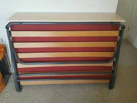 Double fold out bed