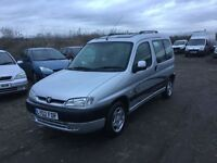 Peugeot partner combo mpvehicle quicksilver model only 63000 mileage in superb condition air con mot