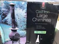 Cast Iron Large Chiminea-new and boxed