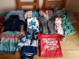 3-6 Month old large boys clothes bundle