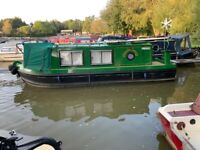 22ft Sea Otter Narrowboat for sale moored in Northampton