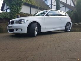 BMW 1 Series, 118 M-Sport,Stunning Polar White ,60000mls, Long MOT