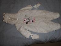 6-9 Month Minnie Mouse Snowsuit