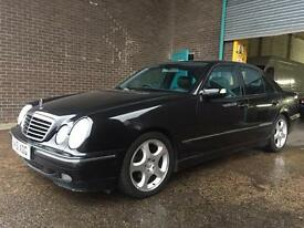 MERCEDES E 240 AUTOMATIC WITH FULL BLACK LEATHER AND NEW 12 MONTHS MOT!!
