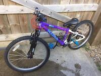 Kona kids mountain bike