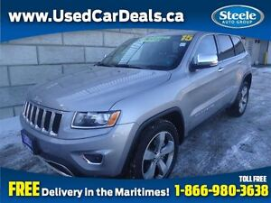 2015 Jeep Grand Cherokee Limited Sunroof Htd Lthr Alloys