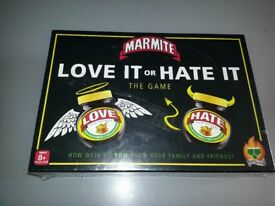 Marmite - Love it - Hate it Game