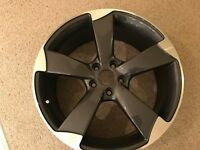 """NEW 4 x 19"""" inch Audi Rotor Arm Alloy Wheels Grey A3 A4 A5 A6 RS3 RS4 RS5 RS6 S5 S3 S4 TTRS zkpe4j"""