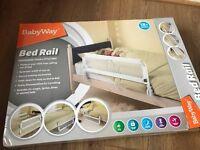 Baby Way Bed Rail - white