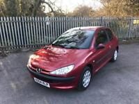 2005 Peugeot 206 1.1 9 Months MOT 3 Door Drives well