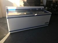 Chest freezer commercial catering frozen fod glass top kebab hotels resturant. Takeway