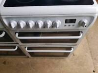 Hotpoint 60cm electric double cooker free NN delivery 3 months warranty