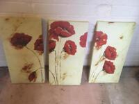 3 piece canvas picture