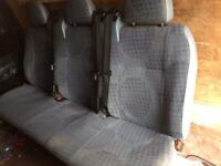 Transit rear sets