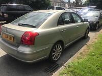 2004 Toyota Avensis Automatic 2.4 VVT- i T Spirit 5dr Spares or repair