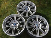 BMW 19inch Alloys.