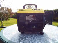 Cosmo 950W 2 stroke generator in excellent condition.