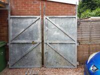 galvanized gates
